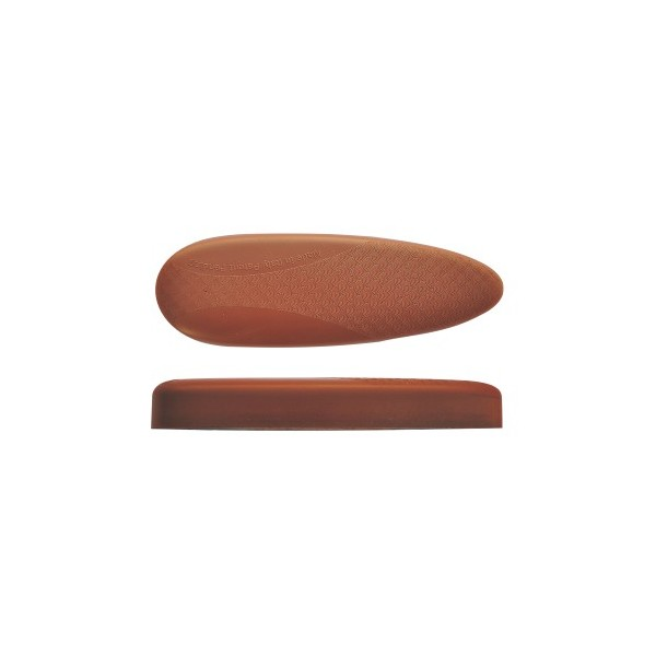 BUTT PLATE MICROCELL H23 EXTRASOFT BROWN 23mm