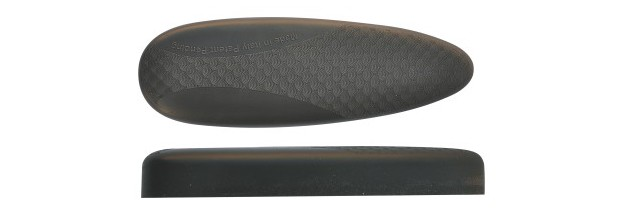 BUTT PLATE MICROCELL H23 SOFT BLACK 23mm
