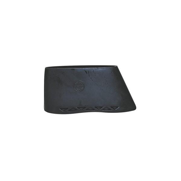 BUTT PLATE SLIP-ON RUBBER STANDARD 134x42mm BLACK