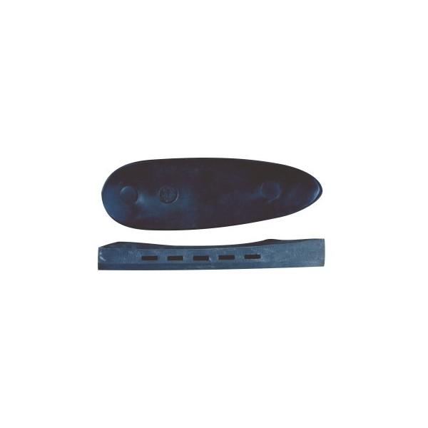 BUTT PLATE RUBBER BLACK Ν59 14mm