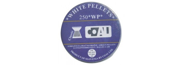 COAL AIRGUN PELLETS 250WP CLASSIC FLAT 5,5mm (0,80grs)