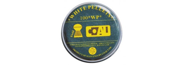 COAL AIRGUN PELLETS 100WP FIELD ROUND 5,5mm (1,00grs)