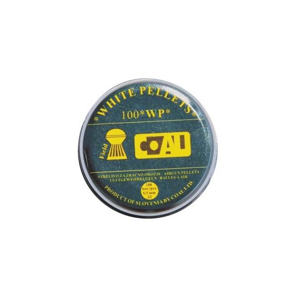 COAL AIRGUN PELLETS 100WP FIELD ROUND 5,5mm (1,00grs)