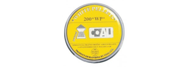 COAL AIRGUN PELLETS 200WP POINTED 4.5MM (0,58grs)