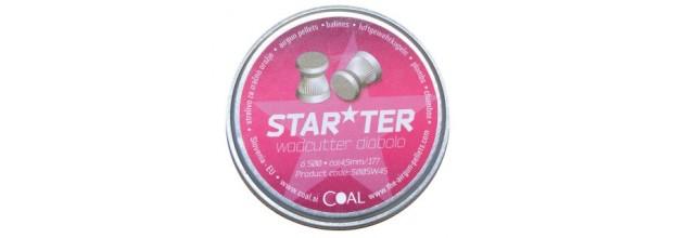 COAL 500SW STARTER WADCUTTER FLAT 4,5mm (0,45grs)