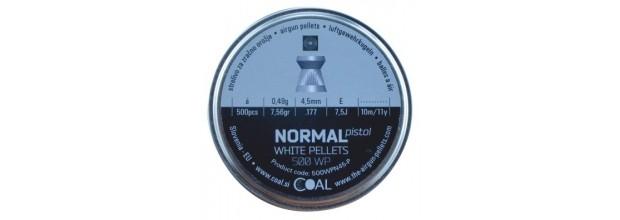 COAL 500WP NORMAL PISTOL FLAT 4.5mm (0,49grs)