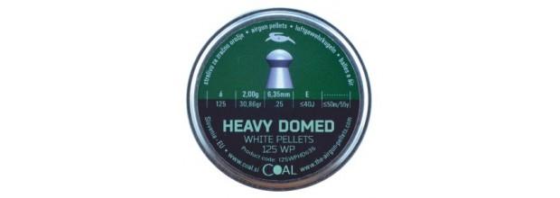 COAL 125WP HEAVY DOMED ΣΤΡΟΓΓΥΛΑ 6.35mm
