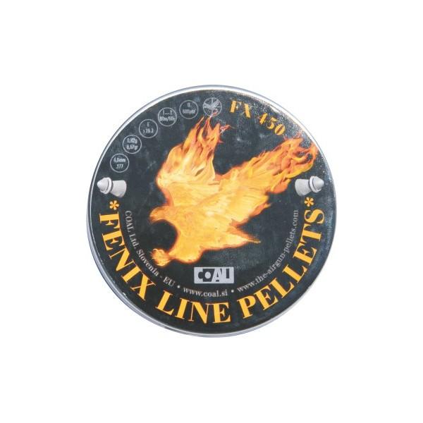 COAL ΔΙΑΒΟΛΟ FENIX 500 POINTED ΜΥΤΕΡΑ 4,5mm (0,62grs)