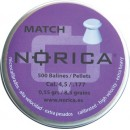 NORICA MATCH FLAT 4.5mm (0.48grs) 250pcs.