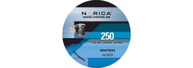 NORICA MATCH ΕΠΙΠΕΔΑ 5.5mm (0.84grs) 250τεμ.