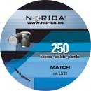 NORICA MATCH FLAT 5.5mm (0.84grs) 250pcs
