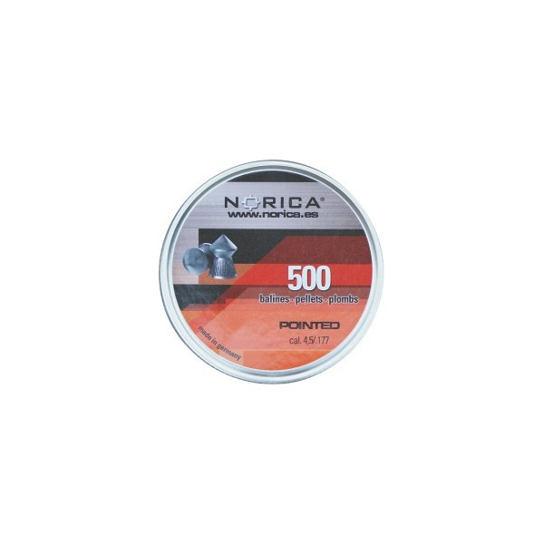 NORICA AIRGUN PELLETS POINTED H&N 4.5mm (0.56grs) 250pcs