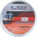 NORICA POINTED H&N 4.5mm (0.56grs) 500pcs