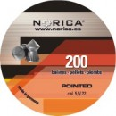 NORICA POINTED H&N ΜΥΤΕΡΑ 6,35mm (1.61grs)