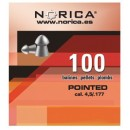 NORICA POINTED ΜΥΤΕΡΑ 4.5mm (0.60grs)