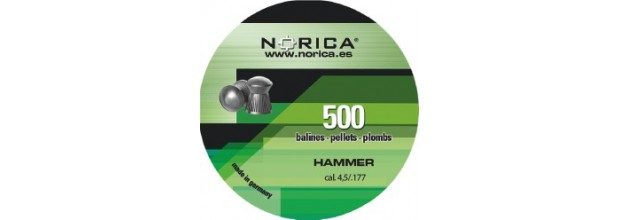 NORICA HAMMER ROUND 4,5mm (0.51grs)