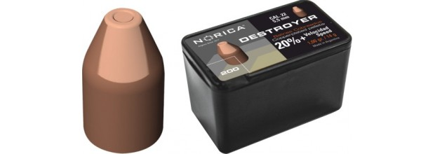 NORICA DESTROYER ΜΥΤΕΡΑ 5.5mm (1.80grs)