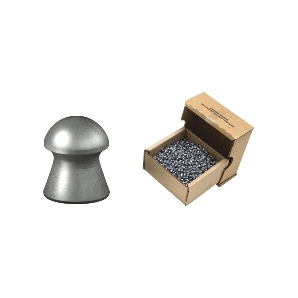 CROSMAN ΔΙΑΒΟΛΟ DOMED ΣΤΡΟΓΓΥΛΑ 4,5mm (7.9grs) 1250τεμ.
