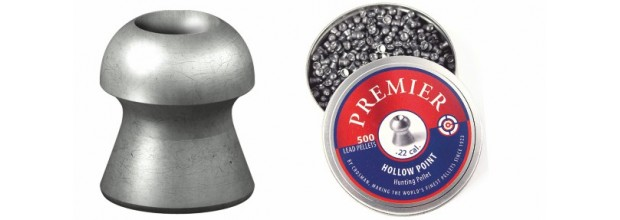 CROSMAN AIRGUN PELLETS HOLLOW POINT 4.5mm
