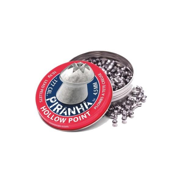 CROSMAN ΔΙΑΒΟΛΟ PIRANHA HOLLOW POINT 5.5mm (14.3grs)