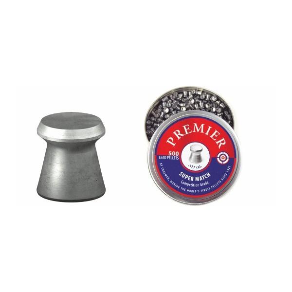 CROSMAN AIRGUN PELLETS MATCH FLAT 4.5mm (7.9grs)