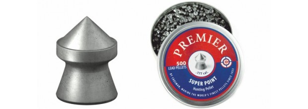 CROSMAN AIRGUN PELLETS SUPER POINTED 4.5mm (7,9grs)