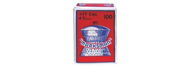 MARKSMAN ΔΙΑΒΟΛΟ ΣΤΡΟΓΓΥΛΑ 4,5mm 100τεμ.