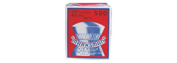 MARKSMAN ΔΙΑΒΟΛΟ ΣΤΡΟΓΓΥΛΑ 4,5mm 500τεμ.