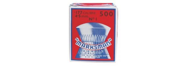 MARKSMAN ΔΙΑΒΟΛΟ ΣΤΡΟΓΓΥΛΑ 5,5mm 500τεμ.