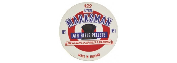 MARKSMAN AIRGUN PELLETS ROUND 4,5mm