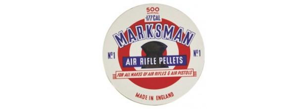 MARKSMAN AIRGUN PELLETS ROUND 5,5mm TIN