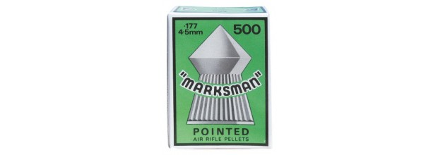 MARKSMAN IARGUN PELLETS POINTED 4,5mm