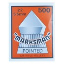MARKSMAN POINTED 5,5mm CARTON BOX