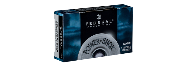 FEDERAL POWER SHOCK F127 2 3/4'' C12