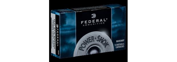 FEDERAL POWER SHOCK F127 2 3/4'' C12