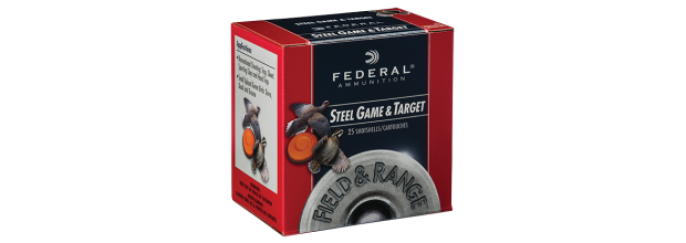 FEDERAL FIELD&RANGE STEEL &SPEED SHOK WF147 C12 2 3/4''