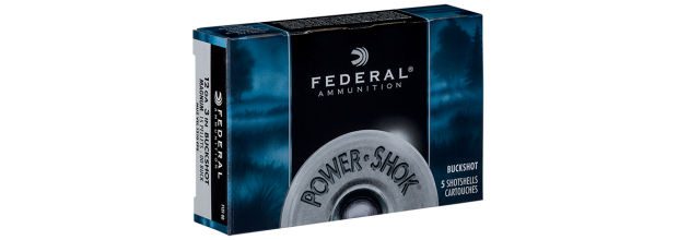 FEDERAL POWER SHOK SEMI MAGNUM F130 ΔΡΑΜΙΑ C12 2 3/4''