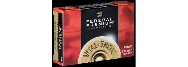 FEDERAL VITAL SHOK MAGNUM P158 C12 3''