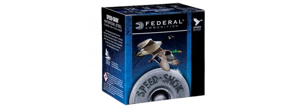 FEDERAL SPEED SHOK WATERFOWL WF140 C12 3''
