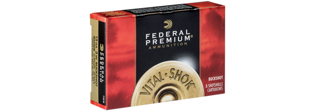 FEDERAL VITAL SHOK SUPER MAGNUM P135F C12 3 1/2''