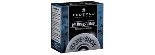 FEDERAL H163 GAME SHOK HI-BRASS C16 2 3/4''