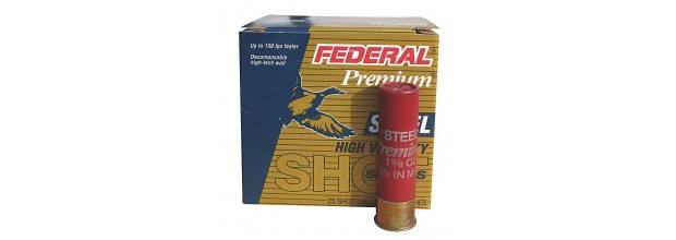 3 1/2'' FEDERAL PW133 ULTRA SHOK STEEL C12