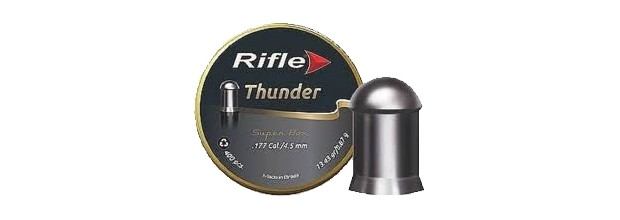 RIFLE THUNDER SB ΣΤΡΟΓΓΥΛΑ 4.5mm (13,43grs)