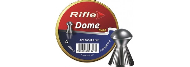 RIFLE DOME SB ΣΤΡΟΓΓΥΛΑ 5.5mm (18,62grs)