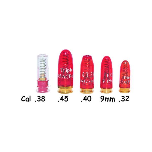 SNAP CAPS PLASTIC C40, C45, C38, C32 & 9mm